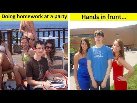 Nerds Next To Girls (Awkward Photos)