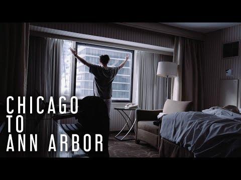 AMTRAK ACROSS AMERICA - Episode 11 (Chicago to Ann Arbor - Amtrak Wolverine)