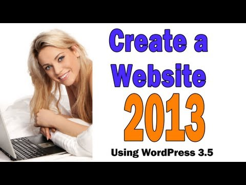 Build a Website With WordPress 3.5 (2013 Edition)