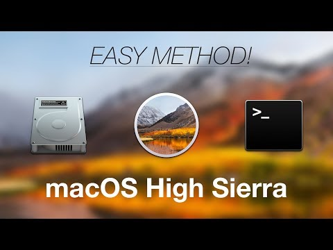 How to Create a Bootable ISO Image Installer for macOS High Sierra