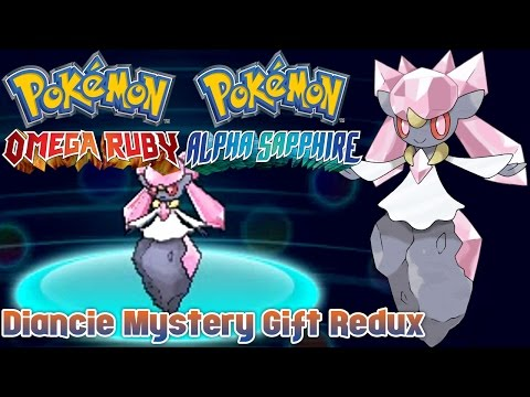 Pokémon Omega Ruby & Alpha Sapphire - Diancie Mystery Gift Redux
