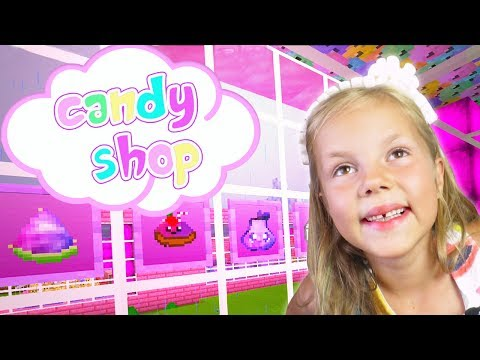 CANDY SHOP - Kid in a Candy Shop! JoJo Siwa Inspired - Mom's away [Part 9]  ❑  Minecraft