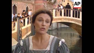 Italy - Filming Of The Honest Courtesan