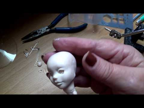 Day 3 blogging Sculpting my new doll ears Tips & Tricks