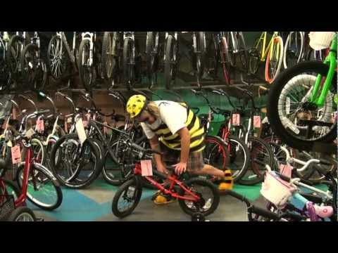 How to pick the right size bike your child that's learning to ride a bike.