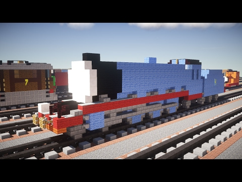 Minecraft Gordon Thomas & Friends Tutorial