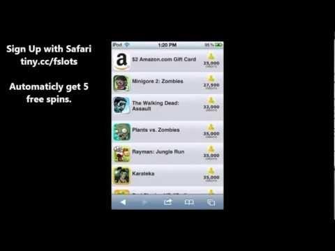 FreeAppSlots - Get free rewards like iTunes,Amazon,iPad Mini,Free Apps.