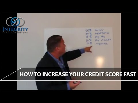How To Increase Your Credit Score Fast - Integrity Credit Solutions