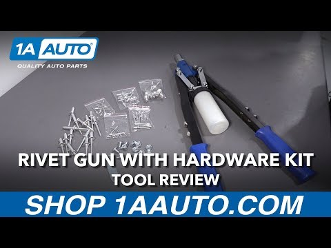 Rivet Gun with Hardware Kit - Available on 1aauto.com