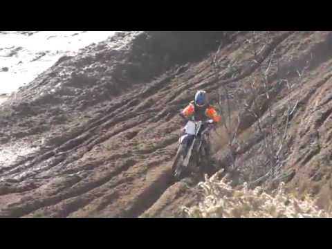 Riding YZ250F At Motopark And Private Track, Crashes, Jumps