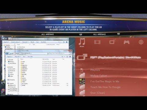 NBA 2K13 | How to Get Custom Arena Music (PS3)