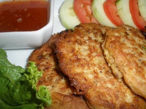 How to make Tuna Fish Pan Cakes