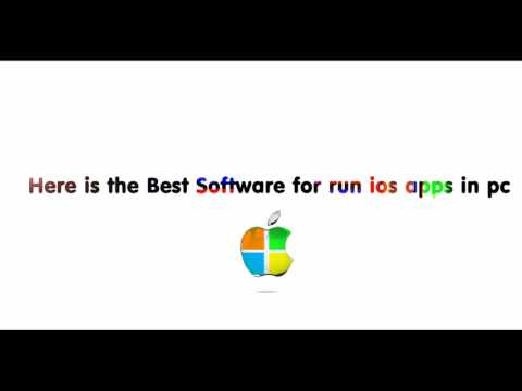 How to Run ios Apps in Windows 7/8/8.1/10