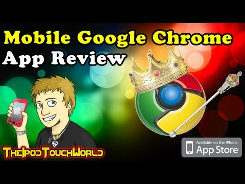 Faster Web Browsing with Google Chrome for iPhone, iPod Touch and iPad