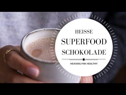 Heiße Superfood Schokolade | Heavenlynn Healthy