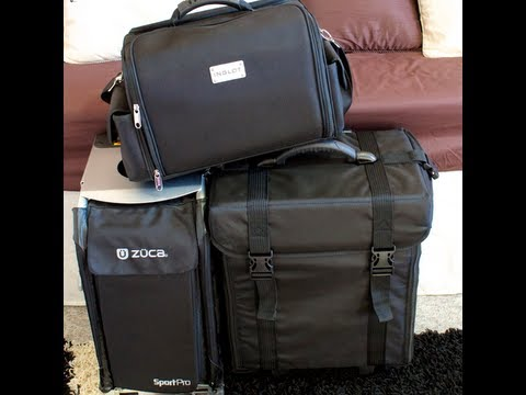 Deluxe Makeup Trolley -V- Zuca Bag -V- Inglot Train Case