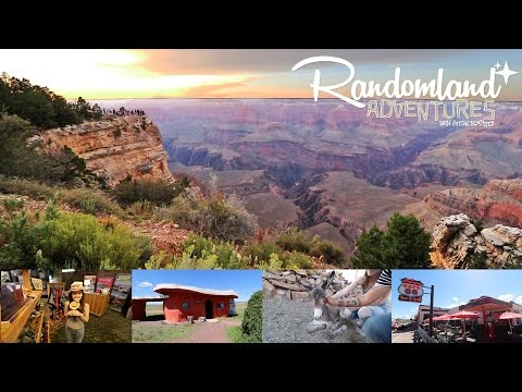 Grand Canyon, Route 66, and the Creepy Flintstones Town