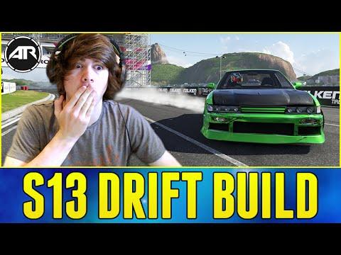 Forza 6 Drifting : Nissan S13 Drift Build!!! (S13 Drift Missile)