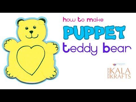 How to Make Rocking Toy or Puppet Teddy Bear || Nivedita || Kala Krafts