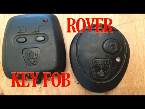 Rover key fob battery change