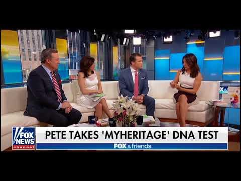 MyHeritage Swabs Fox & Friends Host