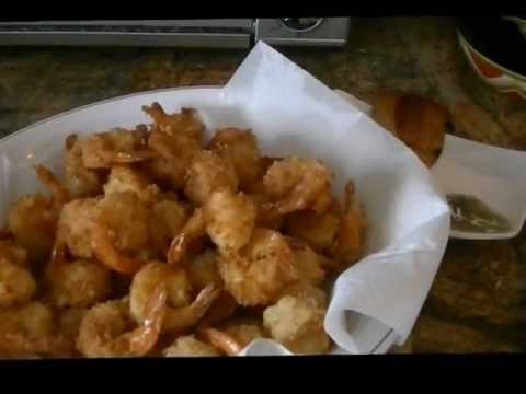 What's for Dinner? (Fried panko shrimp & Sausage & Peppers) VEDA Day 13