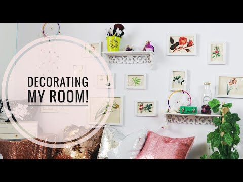 VLOG - My Easy Affordable Room Decor For Video Shooting!