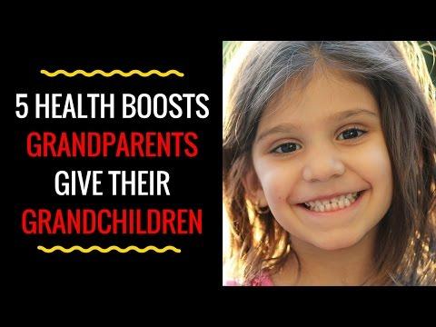 5 Health Boosts Grandparents Give Their Grandchildren