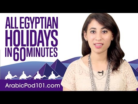 Learn ALL Egyptian Holidays in 60 Minutes