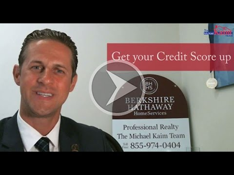 Ohio Real Estate Agent: Improve your Credit Score so you can buy a home.