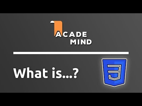 What is CSS - academind.com Snippet