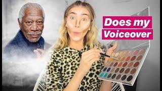 I had Morgan Freeman do my voiceover