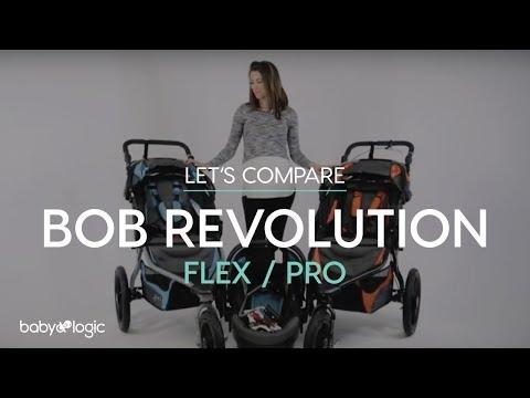 STROLLER 101: BOB REVOLUTION FLEX VS PRO