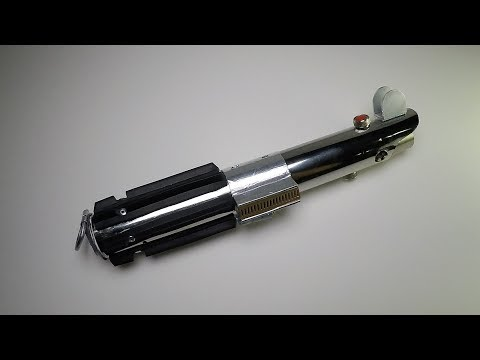 Star Wars: How to Make Rey's Last Jedi Lightsaber for $25 with sounds, clashes, and lights Part 1