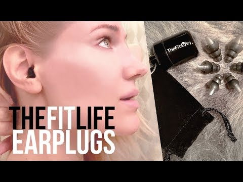 The Fit Life Ear Plugs ~ No More Noisy Neighbors!