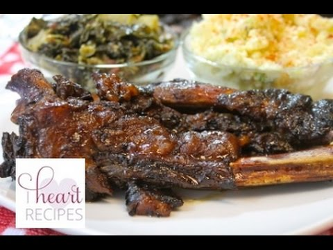 Slow Cooker  Beef Barbecue Ribs Recipe - I Heart Recipes