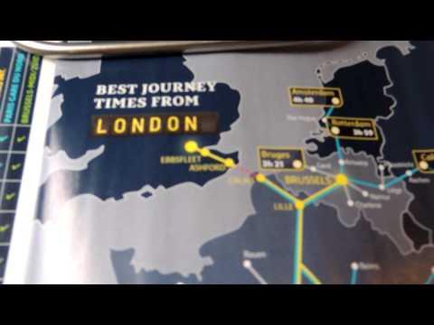 EUROSTAR - LONDON TO BRUSSELS