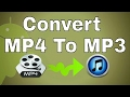 How To Change Mp4 To Mp3
