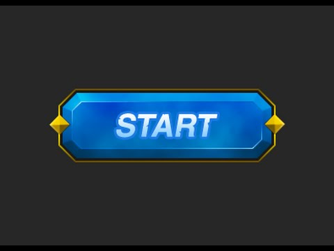 Photoshop Game Button #12 [UI design]