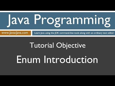 Learn Java Programming - Enum (Enumerations) Introduction
