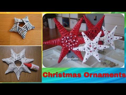 DIY Handmade Christmas ornaments | Home Decor | Xmas Ideas 2017 2018