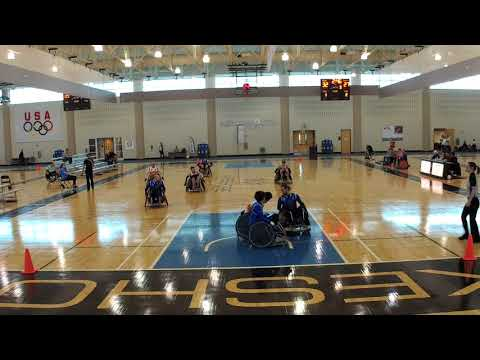 Detroit Wheelchair Rugby Club  St Louis Period 3 (2018 03 16)