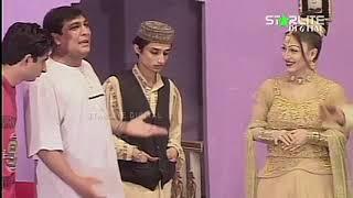 Asif Iqbal and Shahzadi New Pakistani Stage Drama Billo De Lashkare  Full Comedy Clip