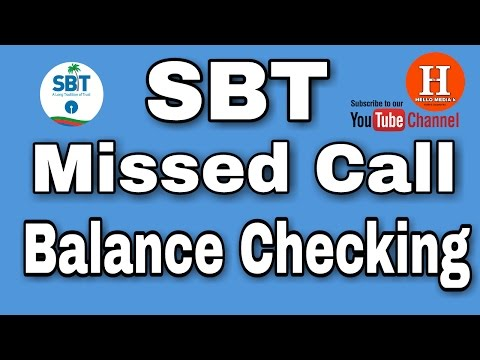 sbt missed call balance enquiry