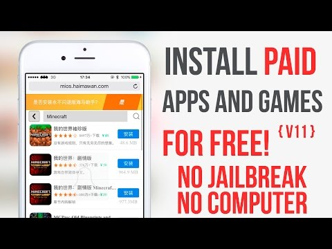 Install Paid Apps for Free IOS 9 -  9.3.3 / 9.3.5 / 10 No Jailbreak No Computer v11