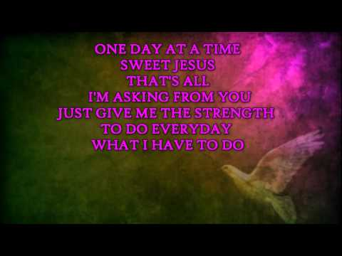 ONE DAY AT A TIME  Instrumental