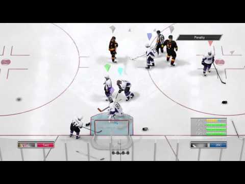 NHL 14: Fight Glitch