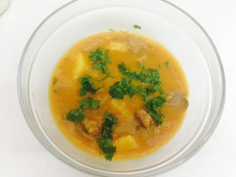 Gosht kadi (lamb curry)