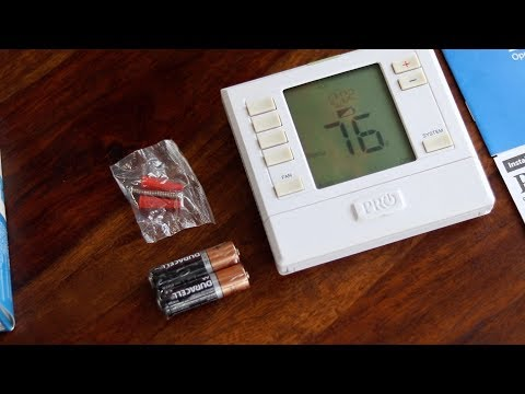 Pro1 T755 Thermostat is the Every-Home Thermostat