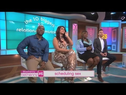 Relationship Mistake: Scheduling Sex